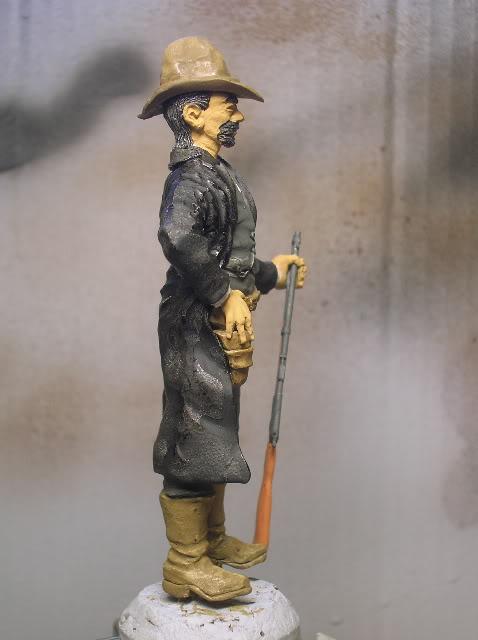 """Wild West Gunman, Figurine """"maison"""" 90 mm MAJ 15/06/12 TERMINEE DSCN1208"""