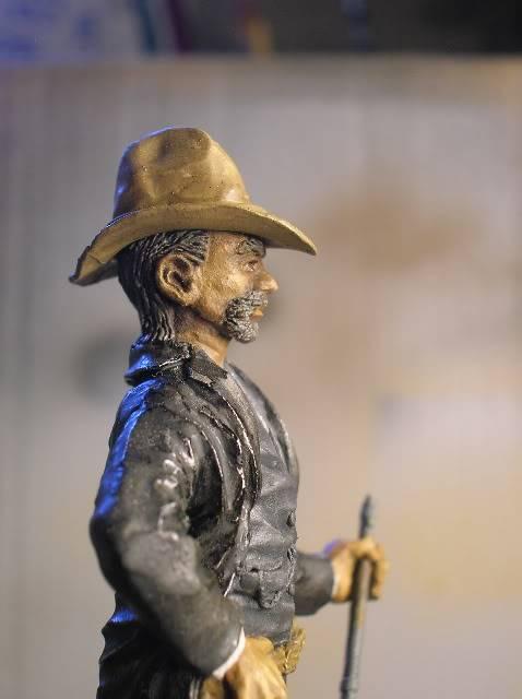 """Wild West Gunman, Figurine """"maison"""" 90 mm MAJ 15/06/12 TERMINEE DSCN1292"""