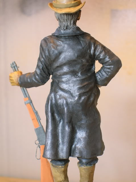 """Wild West Gunman, Figurine """"maison"""" 90 mm MAJ 15/06/12 TERMINEE DSCN1303"""