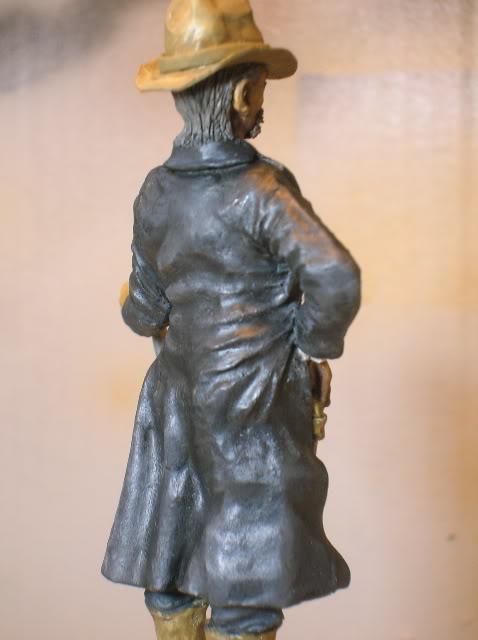 """Wild West Gunman, Figurine """"maison"""" 90 mm MAJ 15/06/12 TERMINEE DSCN1304"""