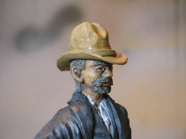 Wild West gunman, [75 mm, Super Sculpey] MAJ 15/06/12 PHOTO A L'ANCIENNE DSCN1305