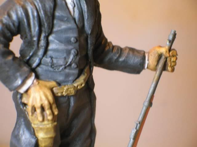 """Wild West Gunman, Figurine """"maison"""" 90 mm MAJ 15/06/12 TERMINEE DSCN1307"""