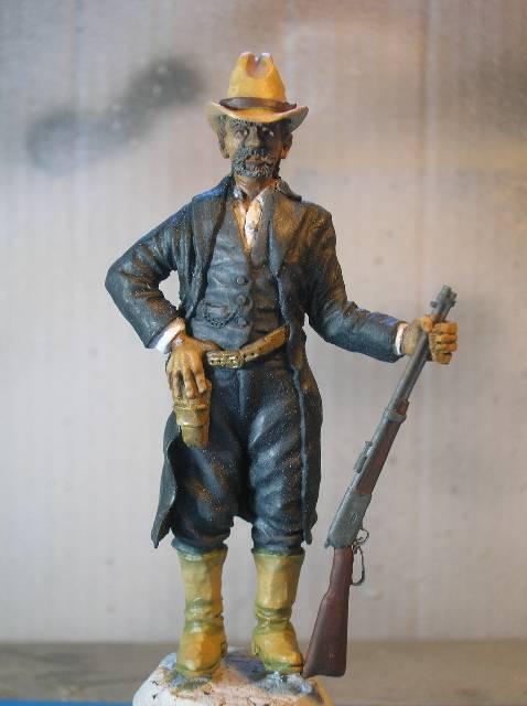 Wild West gunman, [75 mm, Super Sculpey] MAJ 15/06/12 PHOTO A L'ANCIENNE DSCN1487