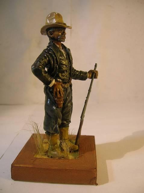 Wild West gunman, [75 mm, Super Sculpey] MAJ 15/06/12 PHOTO A L'ANCIENNE DSCN9271