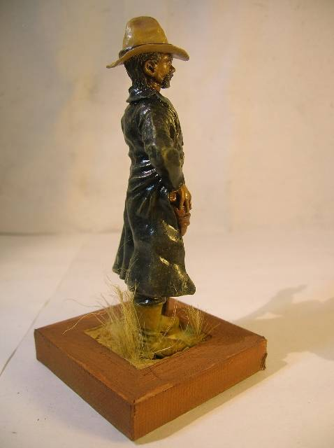 Wild West gunman, [75 mm, Super Sculpey] MAJ 15/06/12 PHOTO A L'ANCIENNE DSCN9272