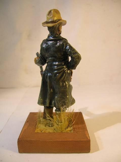 Wild West gunman, [75 mm, Super Sculpey] MAJ 15/06/12 PHOTO A L'ANCIENNE DSCN9273
