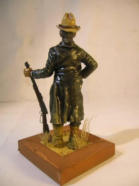 Wild West gunman, [75 mm, Super Sculpey] MAJ 15/06/12 PHOTO A L'ANCIENNE DSCN9274