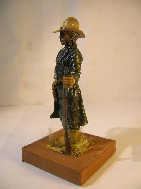 Wild West gunman, [75 mm, Super Sculpey] MAJ 15/06/12 PHOTO A L'ANCIENNE DSCN9276