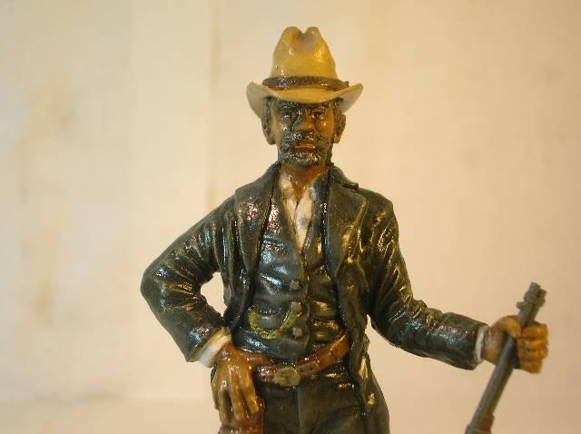 Wild West gunman, [75 mm, Super Sculpey] MAJ 15/06/12 PHOTO A L'ANCIENNE DSCN9278