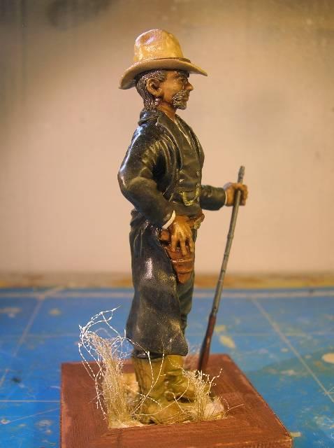 """Wild West Gunman, Figurine """"maison"""" 90 mm MAJ 15/06/12 TERMINEE DSCN9334"""