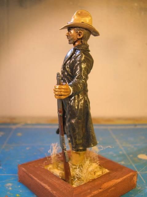 """Wild West Gunman, Figurine """"maison"""" 90 mm MAJ 15/06/12 TERMINEE DSCN9335"""