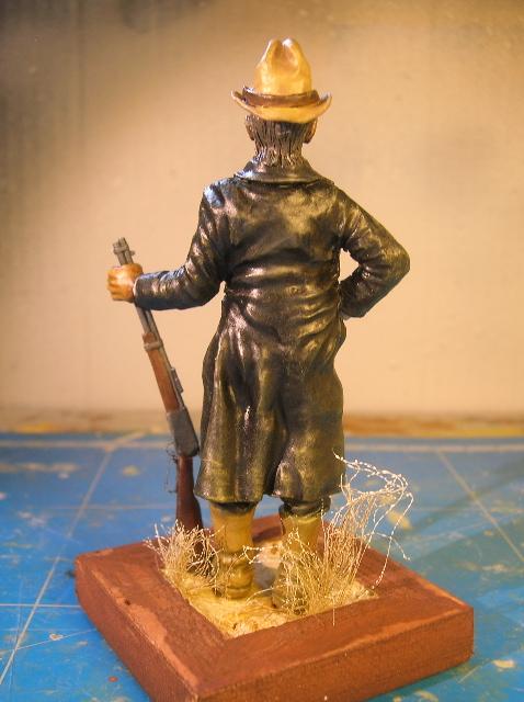 """Wild West Gunman, Figurine """"maison"""" 90 mm MAJ 15/06/12 TERMINEE DSCN9336"""