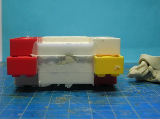 Technique tirage résine avec moule silicone. Etape 1: le moule 912_zps4838e8f5