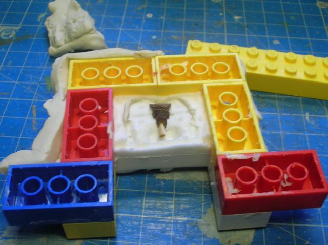 Technique tirage résine avec moule silicone. Etape 1: le moule 915_zpsedaacb96