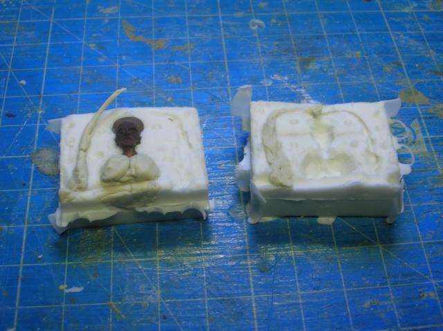 Technique tirage résine avec moule silicone. Etape 1: le moule 99_zps361347ad