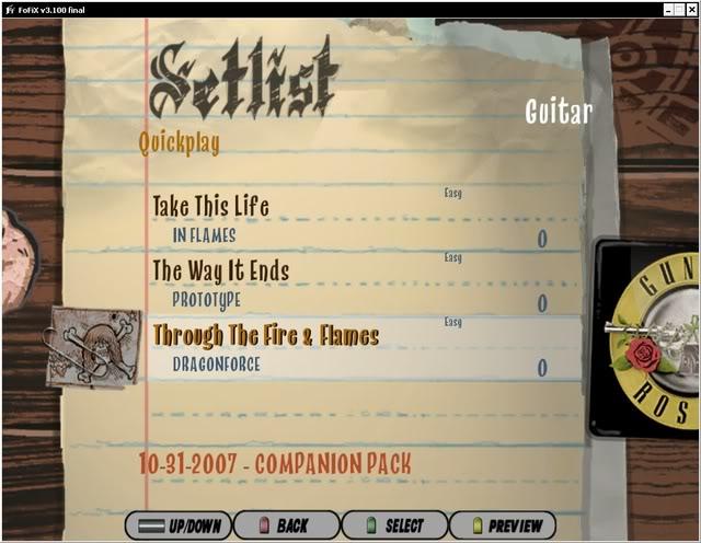 Frets on Fire - GH Metallica Songs PACK!!! + FoFix Full! Imagen25-1