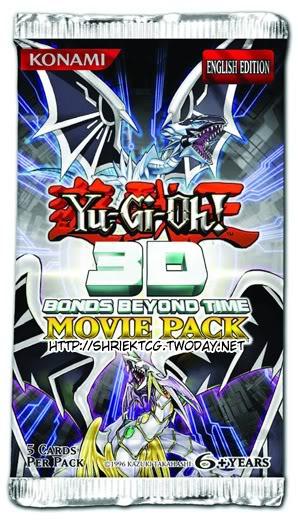 Yu-Gi-Oh! 3D Bonds Beyond Time Pack