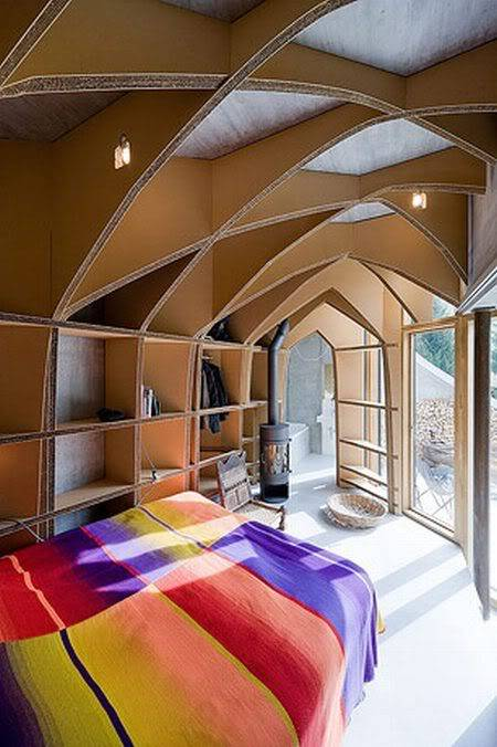 Cool House Inside a Hill in Switzerland A627cf24