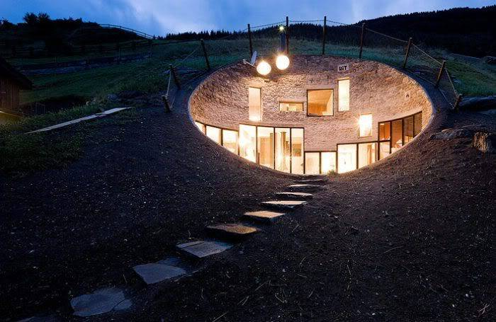 Cool House Inside a Hill in Switzerland A8496cd8