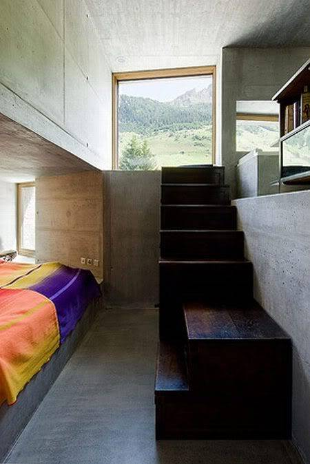 Cool House Inside a Hill in Switzerland B15a58ad