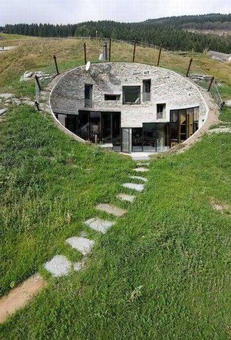 Cool House Inside a Hill in Switzerland Fa11137f