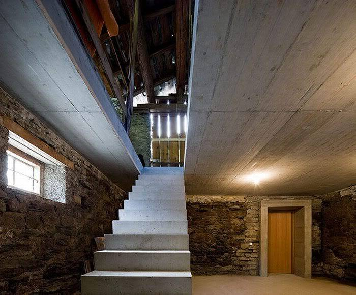 Cool House Inside a Hill in Switzerland Faf44d84