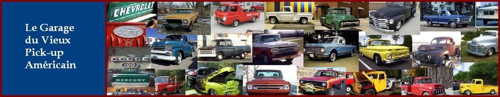 Le Garage du Vieux Pick-Up Américain