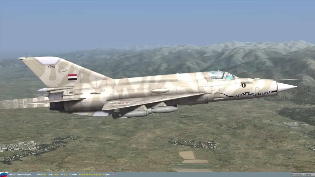 DCS: MiG-21bis Fishbed Mig-21-4