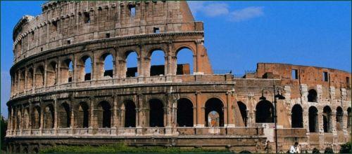 O Coliseu de Roma Italy_Rome-Colosseum_1