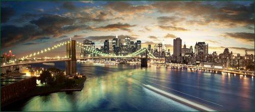 Ponte do Brooklyn New-York-City-Brooklyn-Bridge
