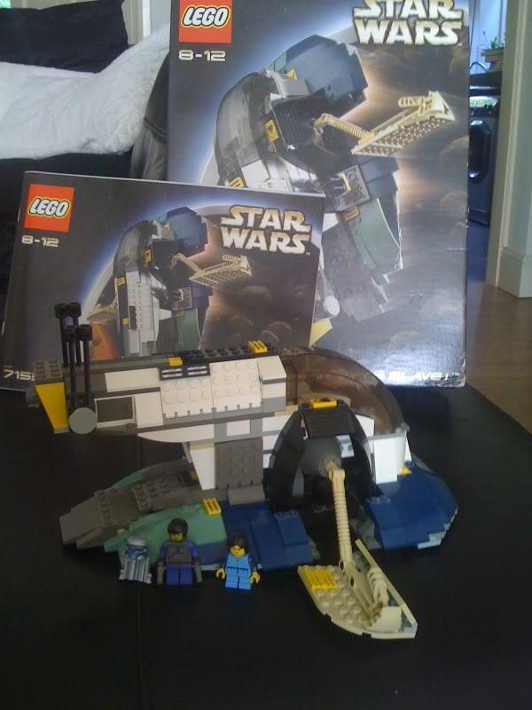 Lego Jango Fett Slave 1 set 7153 Cycling