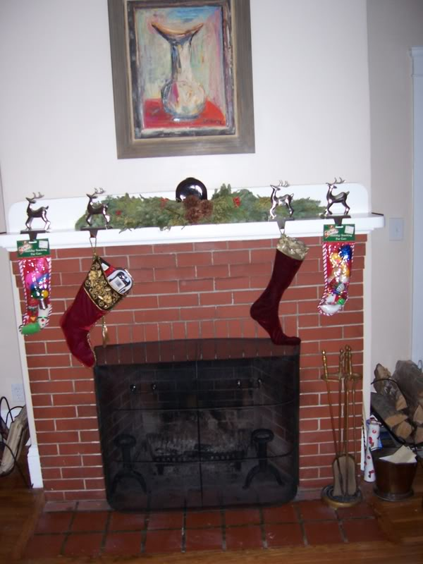 Christmas Decorations! Mantel1208