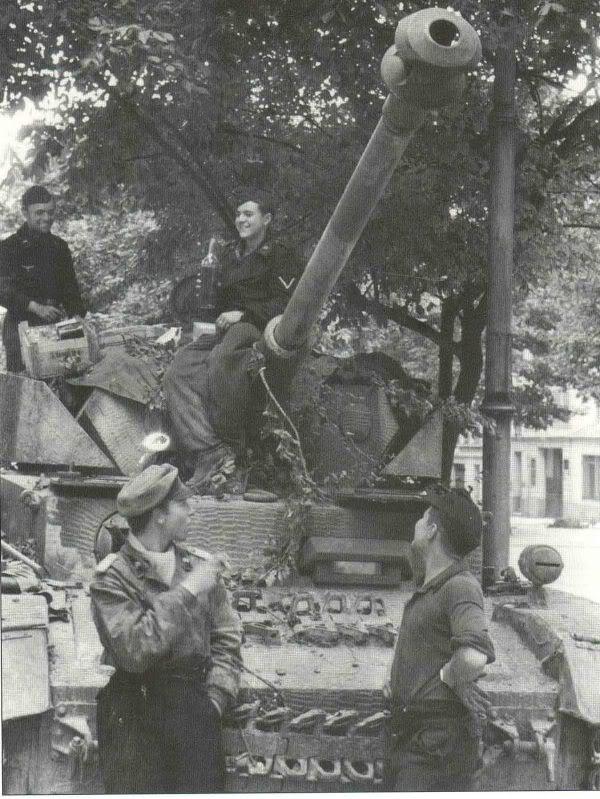 chars allemands Panzer4