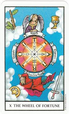 Today's Card - Connolly Tarot By Scamphill - Page 3 10WheelOfFortuneConnollyTarot_0005