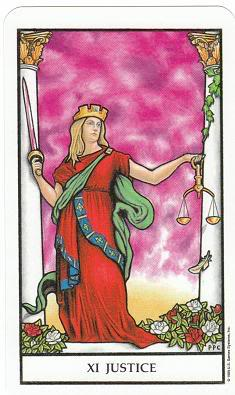 Today's Card - Connolly Tarot By Scamphill - Page 3 11JusticeConnollyTarot_0005