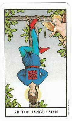 Today's Card - Connolly Tarot By Scamphill - Page 3 12TheHangedManConnollyTarot_0011
