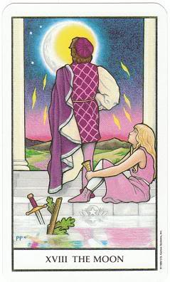 Today's Card - Connolly Tarot By Scamphill - Page 2 18TheMoonConnollyTarot_0005