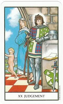 Today's Card - Connolly Tarot By Scamphill - Page 2 20JudgementConnollyTarot_0005
