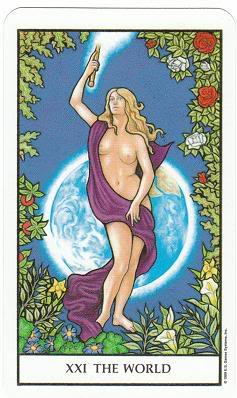 Today's Card - Connolly Tarot By Scamphill - Page 2 21TheWorldConnollyTarot_0005