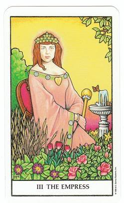 Today's Card - Connolly Tarot By Scamphill - Page 3 3TheEmpressConnollyTarot_0017