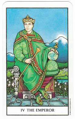 Today's Card - Connolly Tarot By Scamphill - Page 3 4TheEmperorConnollyTarot_0005