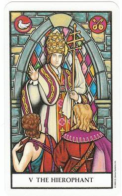 Today's Card - Connolly Tarot By Scamphill - Page 3 5TheHierophantConnollyTarot_0005