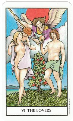 Today's Card - Connolly Tarot By Scamphill - Page 3 6TheLoversConnollyTarot_0005