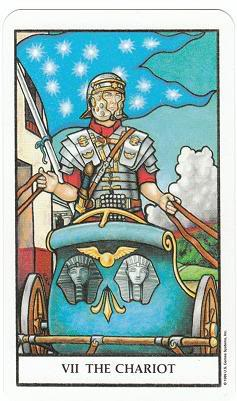 Today's Card - Connolly Tarot By Scamphill - Page 3 7TheChariotConnollyTarot_0005