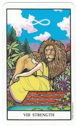 Today's Card - Connolly Tarot By Scamphill - Page 3 8StrengthConnollyTarot_0005