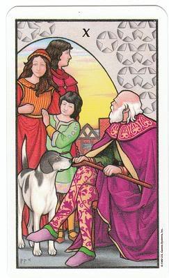 Today's Card - Connolly Tarot By Scamphill 10ofPentaclesConnollyTarot_0005