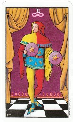 Today's Card - Connolly Tarot By Scamphill - Page 2 2ofPentaclesConnollyTarot_0005
