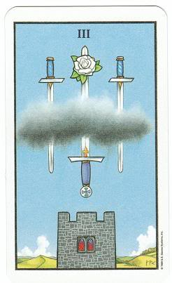 Today's Card - Connolly Tarot By Scamphill 3ofSwordsConnollyTarot_0005