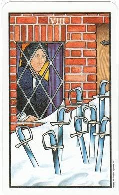 Today's Card - Connolly Tarot By Scamphill 8ofSwordsConnollyTarot_0005