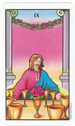 Today's Card - Connolly Tarot By Scamphill - Page 2 9ofCupsConnollyTarot_0011